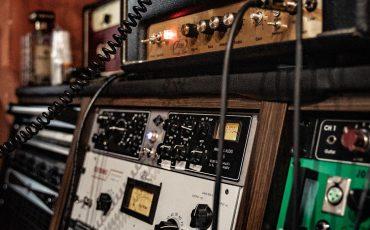 Studio enregistrement message téléphonique